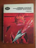 Anticariat: Odiseea martiana. Maestrii anticipatiei clasice