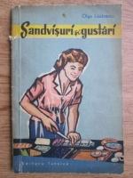 Anticariat: Olga Lazarescu - Sandvisuri si gustari