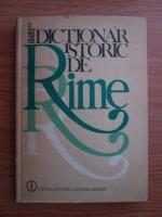 Olimpia Berca - Dictionar istoric de rime