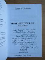 Anticariat: Olimpian Ungherea - Misterele templului masonic (cu autograful autorului)