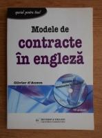 Olivier dAuzon - Modele de contracte in engleza