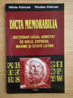 Oliviu Felecan - Dicta memorabilia