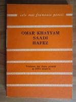 Anticariat: Omar Khayyam - Catrene persane (Robaiat)