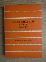 Anticariat: Omar Khayyam Saadi Hafez - Catrene persane