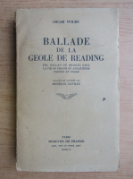 Anticariat: Oscar Wilde - Ballade de la geole de Reading (1944)