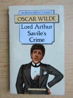 Oscar Wilde - Lord Arthur Savile's crime