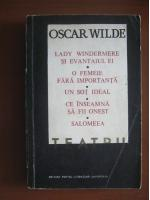 Oscar Wilde - Teatru