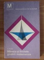 Anticariat: Oskar Becker - Maretia si limitele gandirii matematice