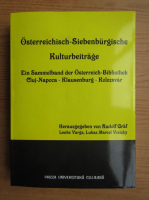Anticariat: Osterreichisch-Siebenburgische Kulturbeitrage
