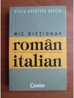Otilia Doroteea Borcia - Mic dictionar roman-italian