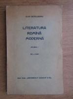 Anticariat: Ovid Densusianu - Literatura romana moderna (1929, volumul 1)