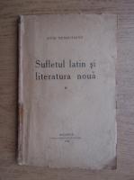 Anticariat: Ovid Densusianu - Sufletul latin si literatura noua (volumul 2, 1922)