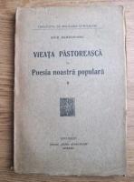 Ovid Densusianu - Vieata pastoreasca in poesia noastra populara (volumul 1, 1922)