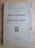 Ovid Densusianu - Vieata pastoreasca in poesia noastra populara (volumul 2, 1923)