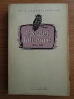 Ovid S. Crohmalniceanu - Cronici literare 1954-1956