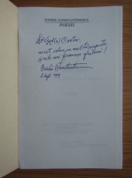 Anticariat: Ovidiu Constantinescu - Poesis. Triumf al iubirii de Frumos, sonete (cu autograful autorului)