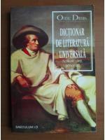 Anticariat: Ovidiu Drimba - Dictionar de literatura universala (scriitori, carti, personaje)