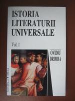 Ovidiu Drimba - Istoria literaturii universale (vol. 1)