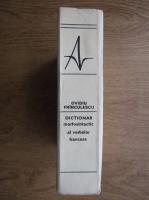 Anticariat: Ovidiu Frinculescu - Dictionar morfosintactic al verbelor franceze
