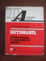 Anticariat: Ovidiu Frinculescu - Dictionarul verbelor franceze cu constructiile lor specifice
