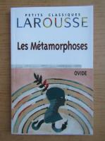 Anticariat: Ovidiu - Les metamorphoses