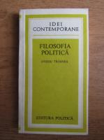 Anticariat: Ovidiu Trasnea - Filosofia politica