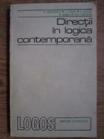 P. Botezatu, T. Dima, P. Bieltz - Directii in logica contemporana