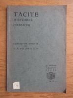 Anticariat: P. H. Collin - Tacite histoires. Preparation annotee (1939)