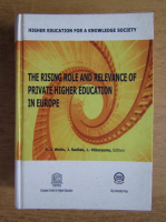 Anticariat: P. J. Wells - The rising role and relevance of private higher education in Europe