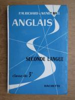 Anticariat: P. M. Richard - Anglais, second langue