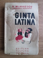 P. Mihaescu - Ginta latina. Nuvele (1936)