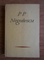 Anticariat: P. P. Negulescu - Pagini alese