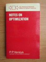 P. P. Varaiya - Notes on optimization