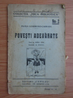 Paola Lombroso-Carrara - Povesti adevarate (1945)