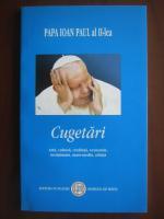 Papa Ioan Paul al II-lea  - Cugetari