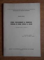 Parichi Mihai - Studiul fizico-geografic al piemontului Cotmeana cu privire speciala la soluri