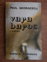Anticariat: Paul Alexandru Georgescu - Vara baroc