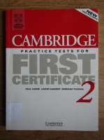 Paul Carne, Louise Hashemi - Cambridge practice tests for first certificate 2