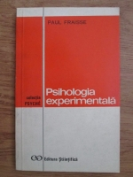 Paul Fraisse - Psihologie experimentala