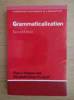 Anticariat: Paul J. Hopper - Grammaticalization