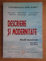 Anticariat: Paul Miclau - Descriere si modernitate. Studii masterale