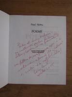 Anticariat: Paul Sarbu - Poeme (cu autograful autorului)