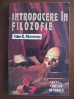 Peter K McInerney - Introducere in filozofie