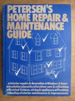 Anticariat: Petersen's home repair and maintanance guide