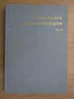 Petre Andrei - Opere sociologice (volumul 4)