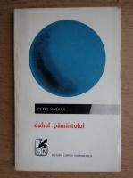 Anticariat: Petre Anghel - Duhul pamantului (volum de debut, 1971)