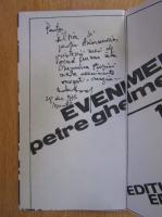Anticariat: Petre Ghelmez - Evenimente 1976 (cu autograful autorului)