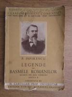 Petre Ispirescu - Legende sau basmele romanilor (1930)