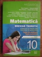 Petre Simion, Valentin Nicula, Victor Nicolae - Matematica. Breviar teoreticf. Exercitii si probleme propuse si rezolvate. Teste de evaluare. Teste sumative
