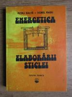 Petru Balata - Energetica elaborarii sticlei